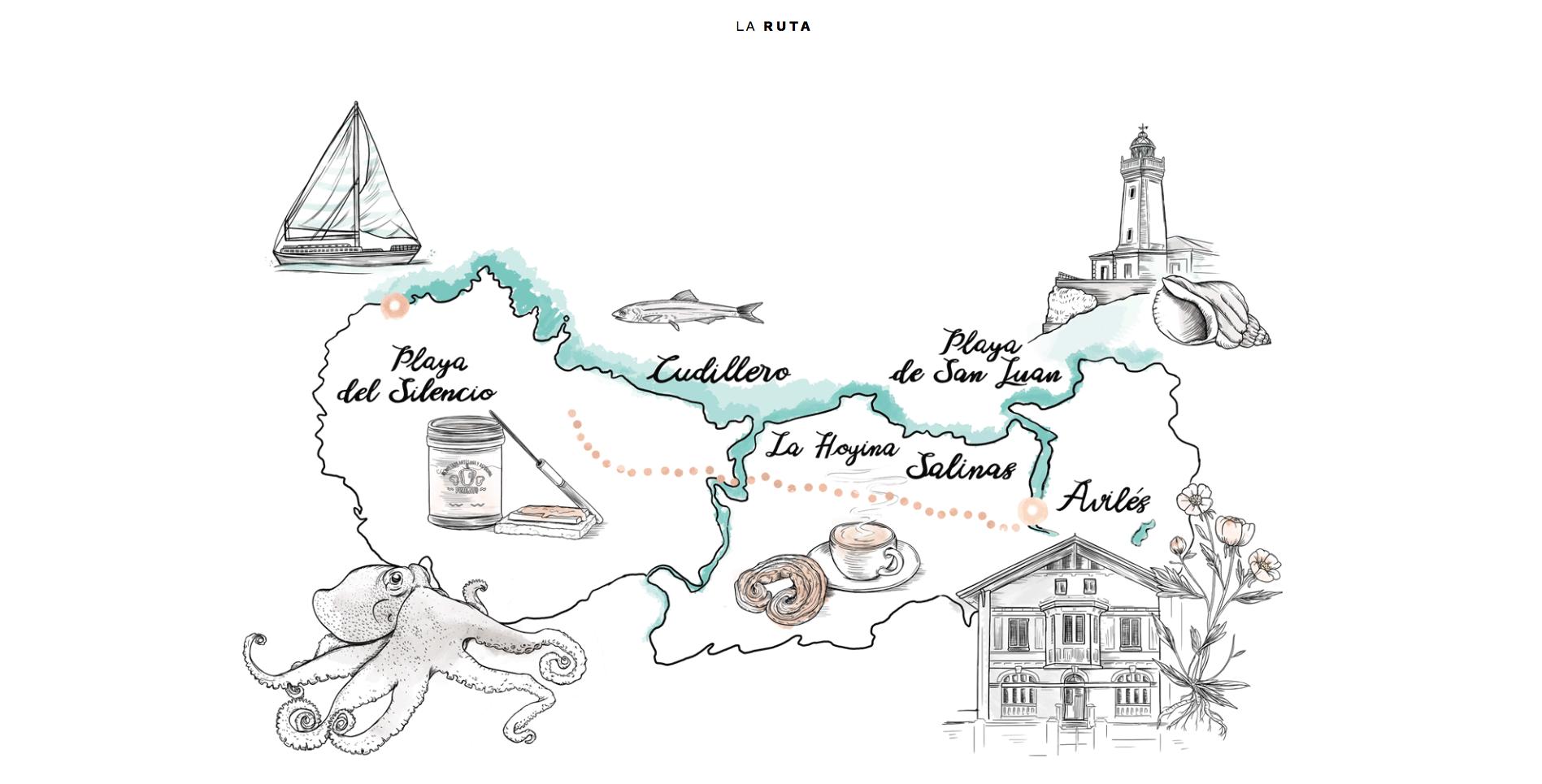 """""""Postales desde Asturias"""", un viaje long format de CN Stories para Vogue.es"""