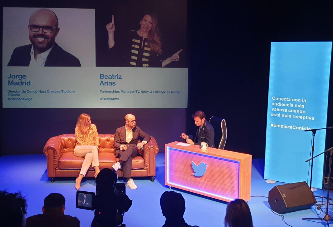 Presentación de la alianza estratégica entre Condé Nast España y Twitter