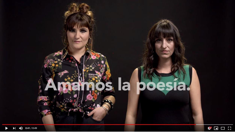 Rozalén protagoniza un nuevo vídeo de Amamos la Poesía